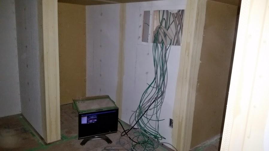 テレビアンテナ設置工事